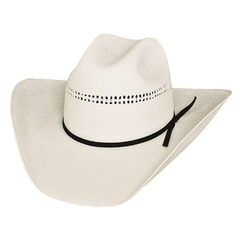Bullhide White Gold 10X Off White Straw Cowboy Hat - Hat - A - Tack