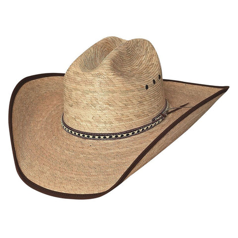 Bullhide Wide Open 15X Natural Straw Cowboy Hat - Hat - A - Tack