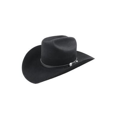 Bailey Wichita 2X Black Wool Cowboy Hat - Hat - A - Tack