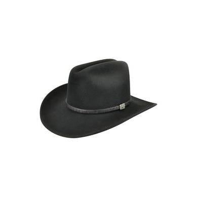 Bailey Wistar Black  LiteFelt Soft Wool Hat - Hat - A - Tack
