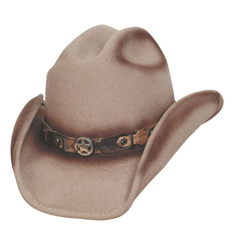 Bullhide Yearling Sand Wool Childrens Cowboy Hat - Hat - A - Tack