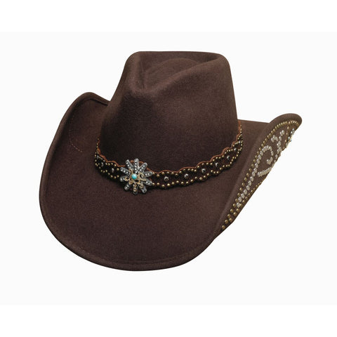 Bullhide Your Everything Chocolate Wool Cowgirl Hat - Hat - A - Tack