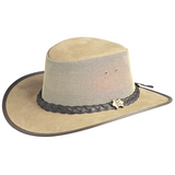 BC Hats Cool as a Breeze Australian Leather Outback Hat