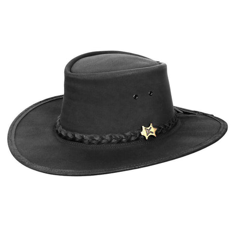 BC Hats Stockman Oily Australian Leather outback Hat