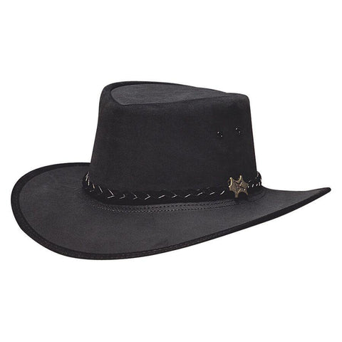 BC Hats Stockman Suede Australian Leather
