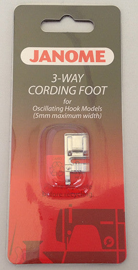 3-Way Cording Foot - Category A