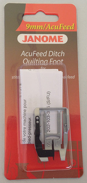 AcuFeed Ditch Quilting Foot - Category D (with AcuFeed)