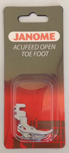 AcuFeed Open Toe Foot - MC7700QCP & 6600P ONLY