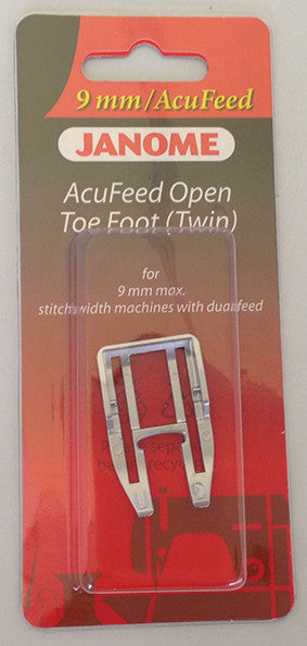 Acufeed Open Toe Foot (Twin)
