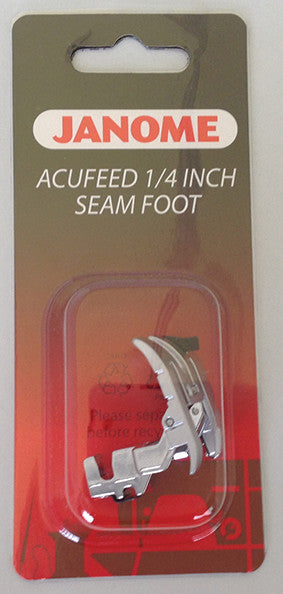 AcuFeed 1/4 inch Seam Foot - MC7700QCP/MC6600P ONLY