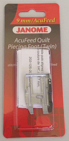 AcuFeed 1/4 inch Seam Foot - Cat D (with Acufeed)