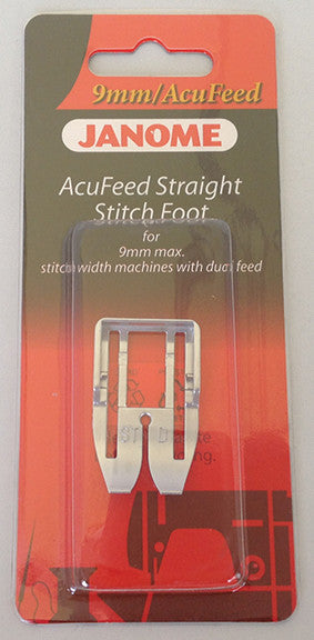 AcuFeed Straight Stitch Foot - Category D (with AcuFeed)
