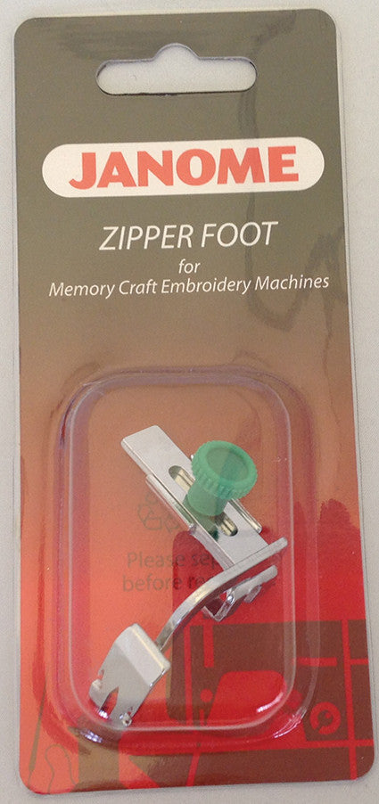 Adjustable Zipper Foot/Piping - Category C