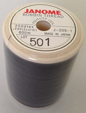 Bobbin Thread - BLACK - 800m
