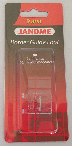 Border Guide Foot - Category D