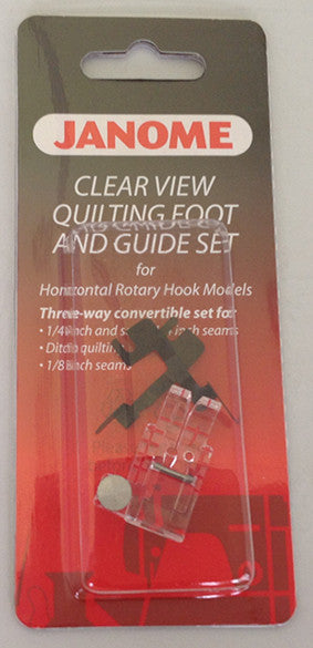 Clear View Quilting Foot and Guide Set - Category B/C
