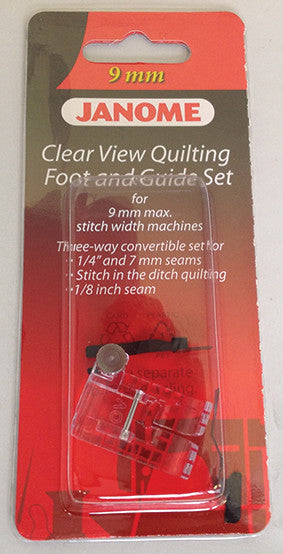 Clear View Quilting Foot and Guide Set - Category D
