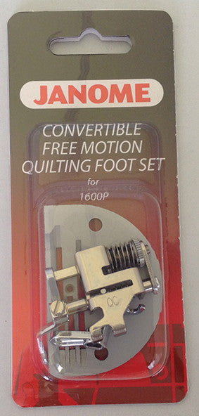 Convertible Free - Motion Quilting Foot Set