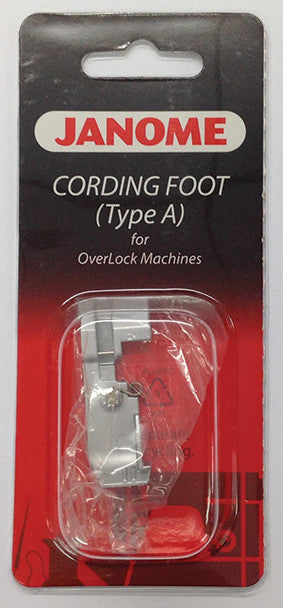 Cording Foot (A) i.e. fishing line