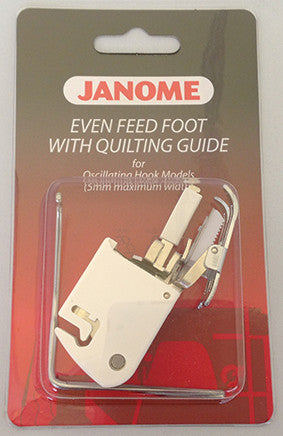 Even Feed Foot - With Quilters Guide (Standard Closed Toe) - Category A
