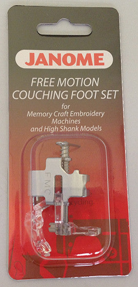 Free Motion Couching Foot Set - Category C/D - Janome J-Shop