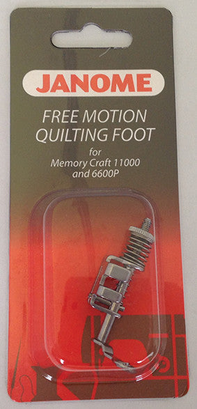 Free Motion Quilting Foot - Exclusive for MC11000/MC11000SE MC7700QCP/MC6600P