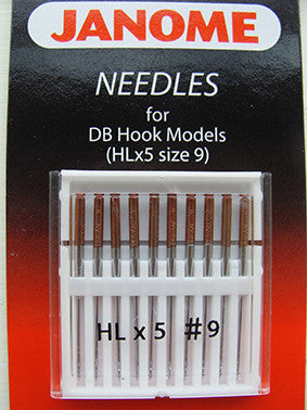 HL Needles - Size 9 - Memory Craft 1600P Series ONLY