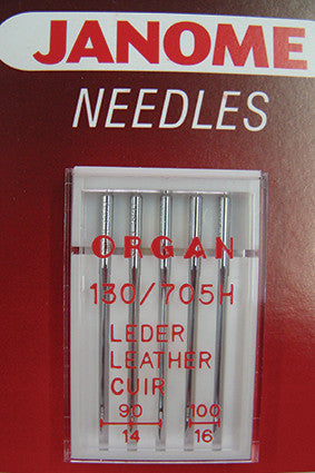 Leather Needles - UK Size Assorted 11 & 14 - Metric Size 75/90
