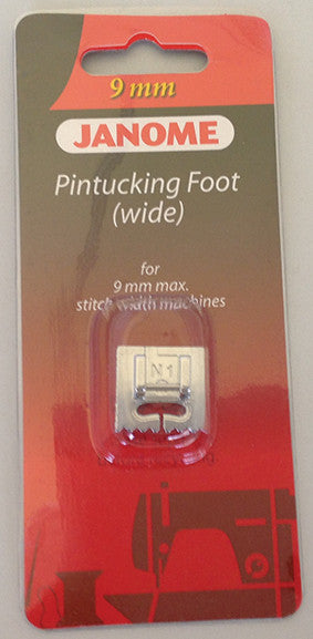 Pintuck Foot (Wide - 7 Groove)