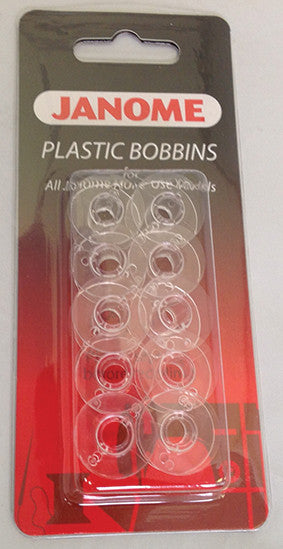 Plastic Bobbins - (Pack of 10)