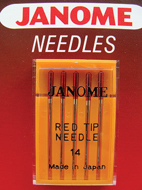 Red Tip Needles - UK Size 14 - Metric Size 90