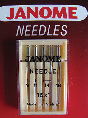Standard Needles - UK Assorted - 9,11,14 and 16
