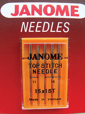 Topstitching Needles - UK Size Assorted 11 & 14 - Metric Size 75/90