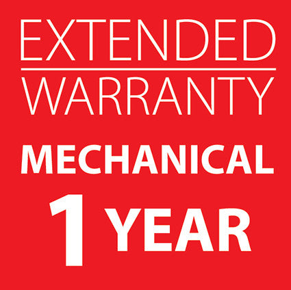 Extended Warranty Mechanical Machines 1 Year