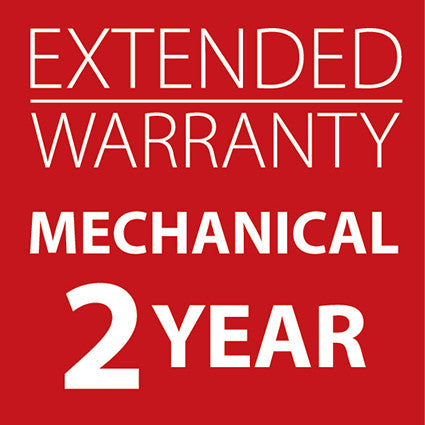 Extended Warranty Mechanical Machines 2 Years