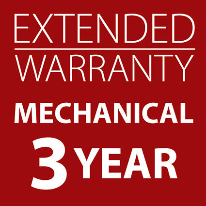 Extended Warranty Mechanical Machines 3 Years