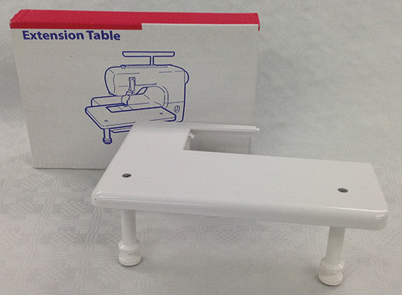 White Extension Table - CoverPro (11 5/8'' x 8'')