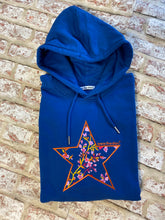 Meet our Teal Hoodie with Japanese inspired Embroidered Star