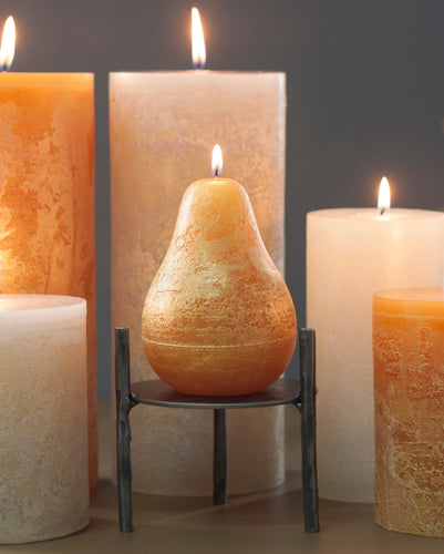 Scentless Pear Candles