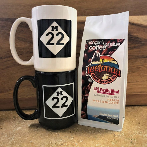M22 Coffee Mug and Leelanau Coffee