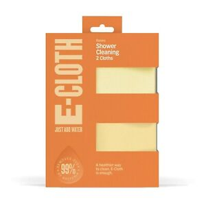 E-Cloth Shower Cleaning Cloths 2 Pack