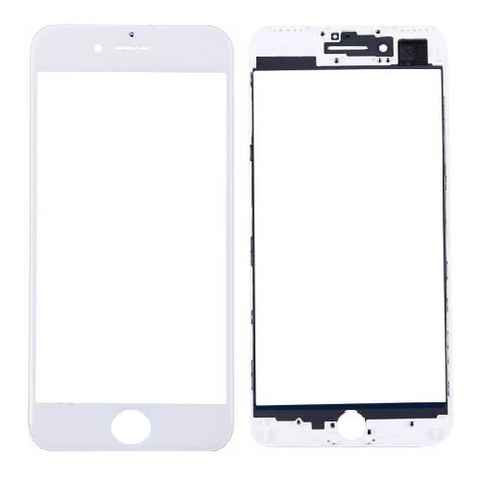 Front Glass Lens with Frame for iPhone 7 Plus (5.5inch)(Cold Pressed ...