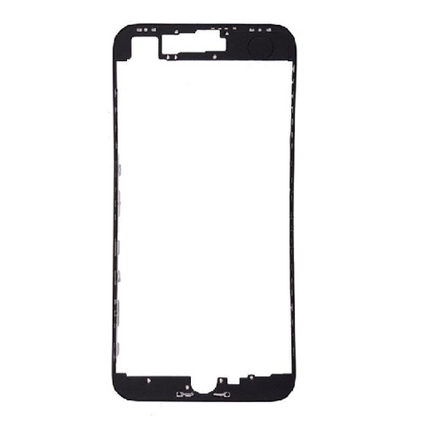Front Frame with Hot Adhesive for iPhone 8 (4.7inch) - Black – LIC ...