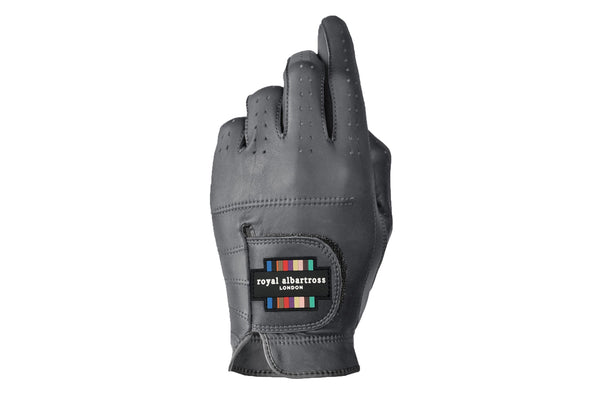 Luxury Leather Golf Glove | Cabretta Grey Leather  | Royal Albartross The Windsor Grey