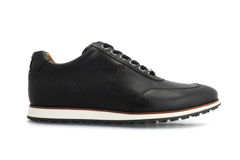 Men's Hybrid Golf Shoe | Comfort & Style - Black | Royal Albartross The Driver Black M-S-HYB-DR-BK-UK07-US08