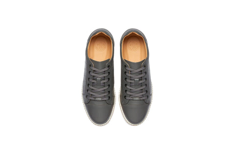 Men's Spikeless Golf Shoe | Faux Grey Croc Leather | Royal Albartross Club Croco Grey