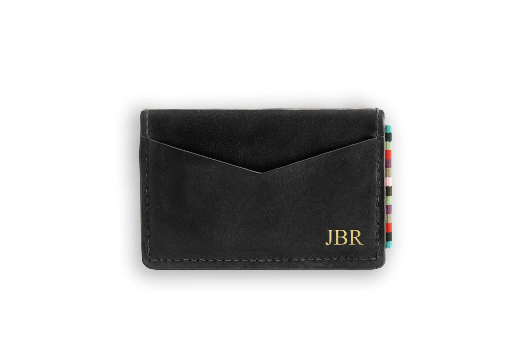 The Wanderer Card Holder Black N-A-SMA-WR-BK-OS
