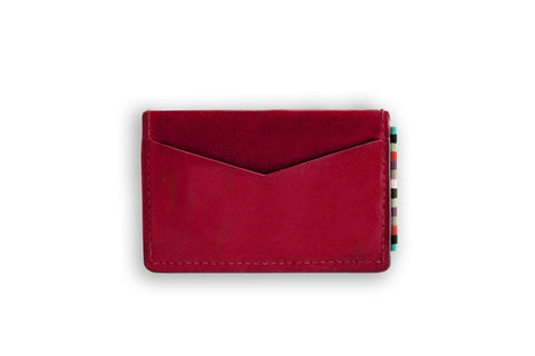 The Wanderer Card Holder Red N-A-SMA-WR-RD-OS