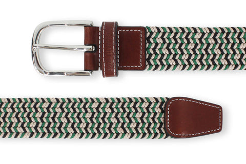 Men's Green Belt | Easy Fit - Make a Statement | Royal Albartross The Elvis Green