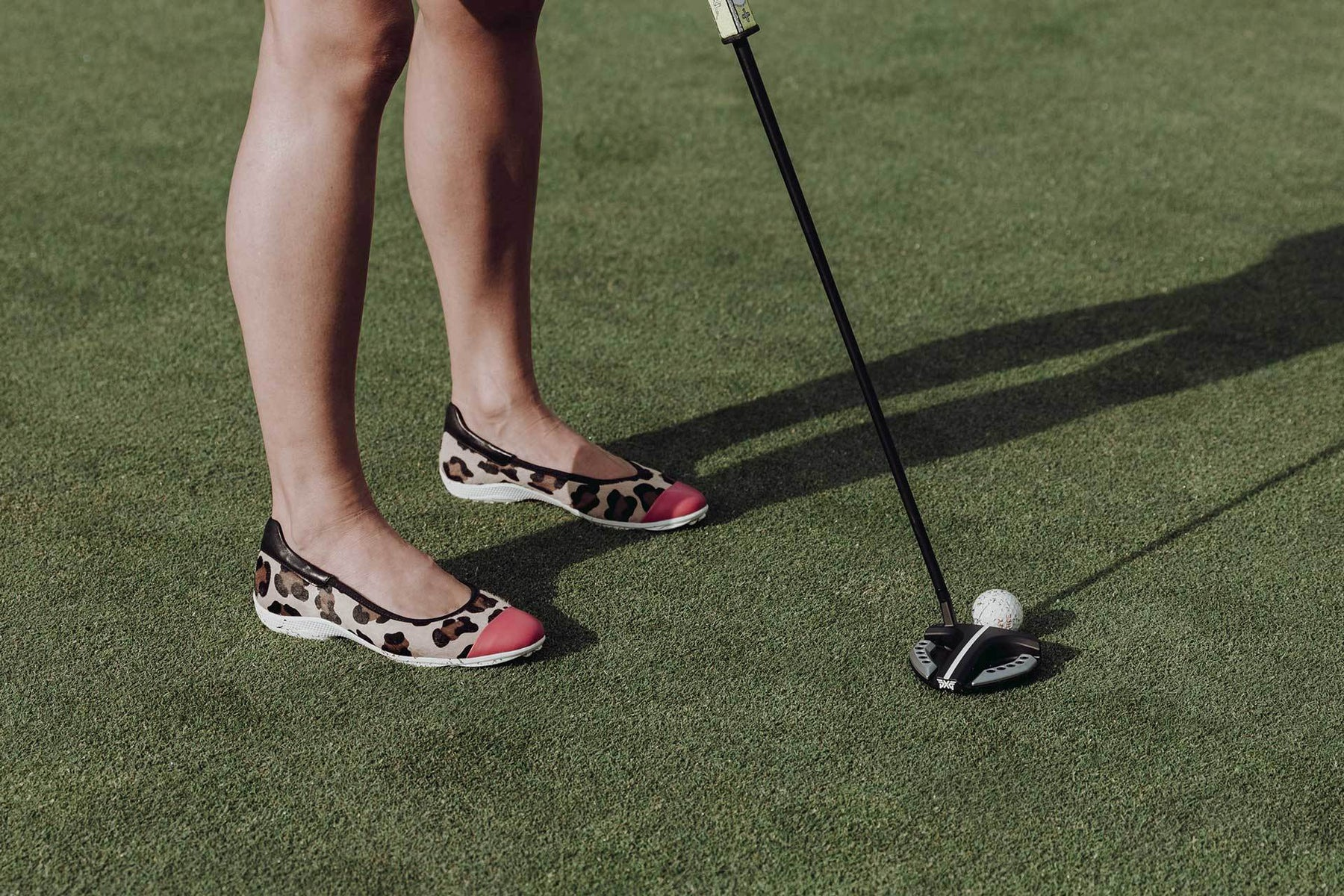 Ladies Golf Shoes | Runway Leopard | Royal Albartross Runway Leopard